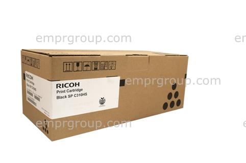 Part Ricoh SPC310 Blk Toner Cart - 406483 Ricoh SPC310 Blk Toner Cart
