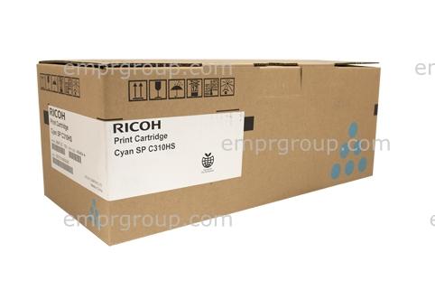 Part Ricoh SPC310 Cyan Toner Cart - 406484 Ricoh SPC310 Cyan Toner Cart