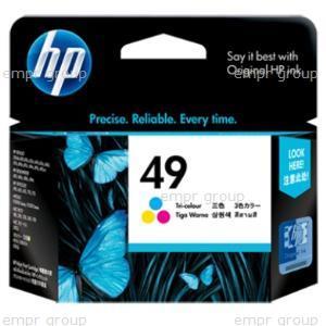 HP Part 51649AA HP Ink Crtg 49A Large Color AP