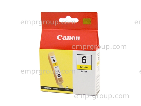 Part Canon BCI6Y Yellow Ink Tank Canon BCI6Y Yellow Ink Tank