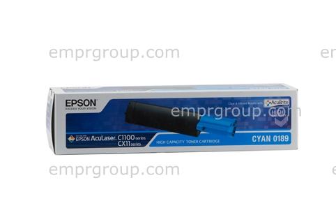 Part Epson S050189 Cyan Toner Cart - C13S050189 Epson S050189 Cyan Toner Cart