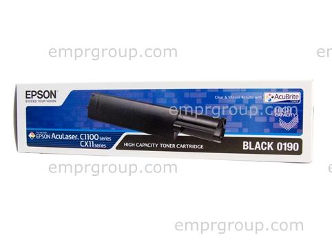 Part Epson S050190 Black Toner Cart - C13S050190 Epson S050190 Black Toner Cart