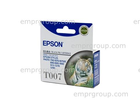 Part Epson T007 Black Ink Cartridge - C13T007091 Epson T007 Black Ink Cartridge