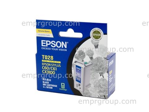 Part Epson T028 Black Ink Cartridge - C13T028091 Epson T028 Black Ink Cartridge
