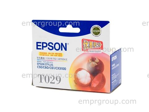 Part Epson T029 Colour Ink Cart - C13T029091 Epson T029 Colour Ink Cart
