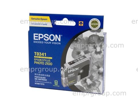 Part Epson T0341 Photo Black Ink - C13T034190 Epson T0341 Photo Black Ink