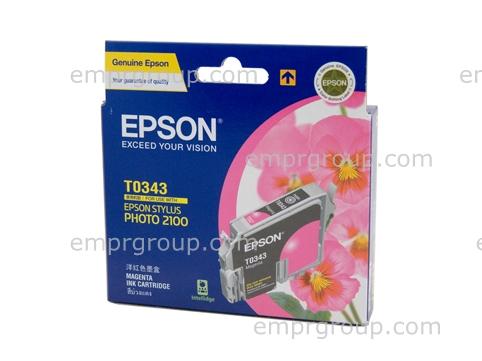 Part Epson T0343 Magenta Ink Cart - C13T034390 Epson T0343 Magenta Ink Cart