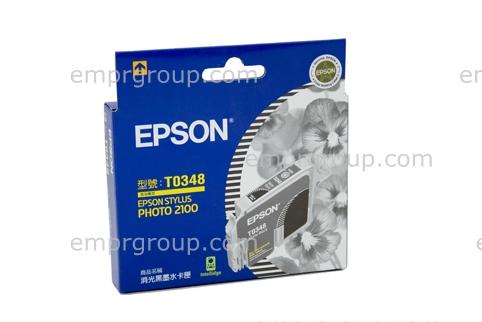 Part Epson T0348 Matte Black Ink - C13T034890 Epson T0348 Matte Black Ink