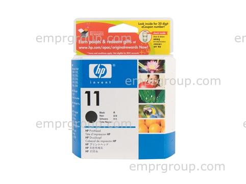 HP Part C4810A HP 11 Black Printhead