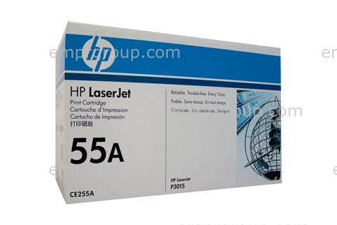 HP BLACK TONER CE255A