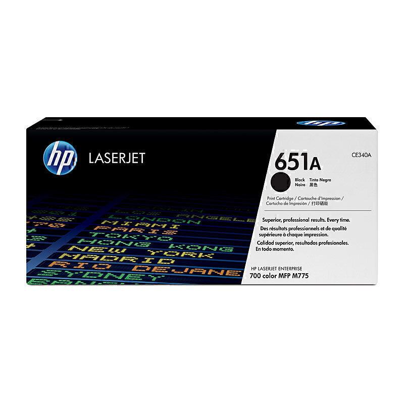 HP Part CE340A CE340A LJ 700 MFP 775 Toner Crtg Black