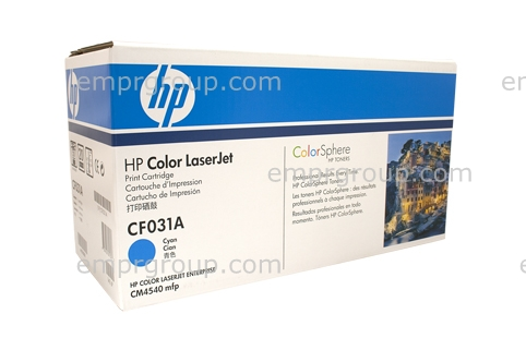HP LJ CM4540 MFP Toner Cartridge Cyan