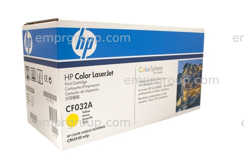 HP LJ CM4540 MFP Toner Cartridge Yellow