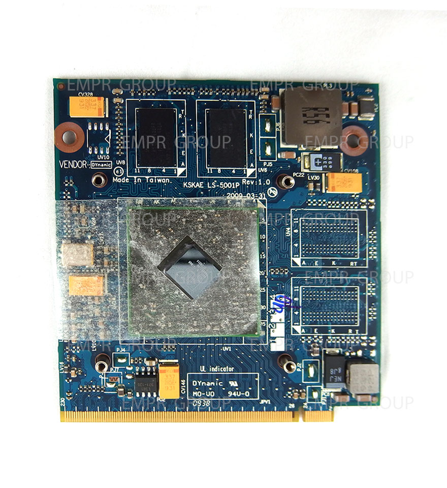 Toshiba Part K000078110 VGA BOARD