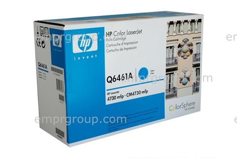 Toner cartridge - Cyan toner cartridge - Will print approximately 12,000 pages based on a 5% print density