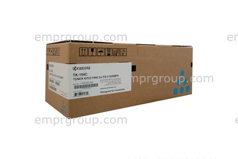 Part Kyocera TK154 Cyan Toner - TK-154C Kyocera TK154 Cyan Toner
