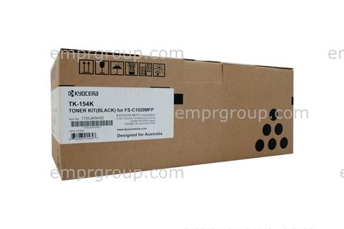 Part Kyocera TK154 Black Toner - TK-154K Kyocera TK154 Black Toner