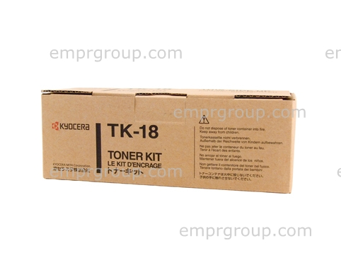 Part Kyocera TK18 Toner Kit - TK-18 Kyocera TK18 Toner Kit